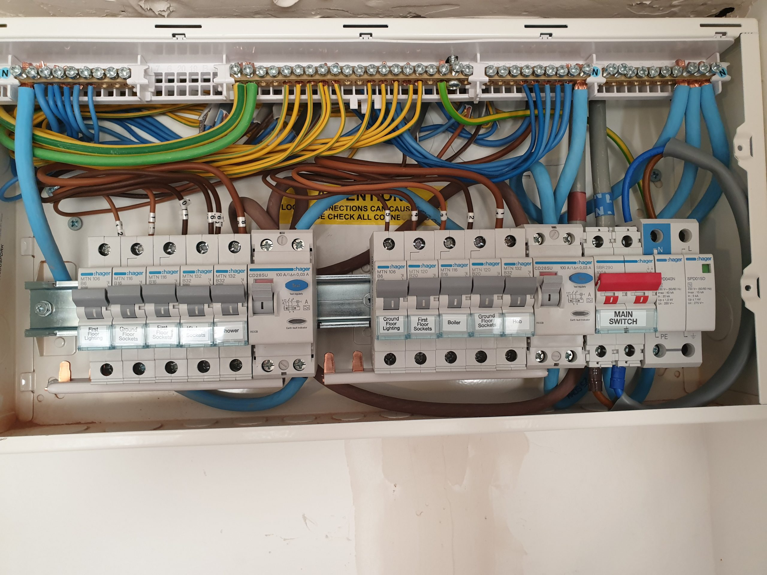 Consumer unit changes